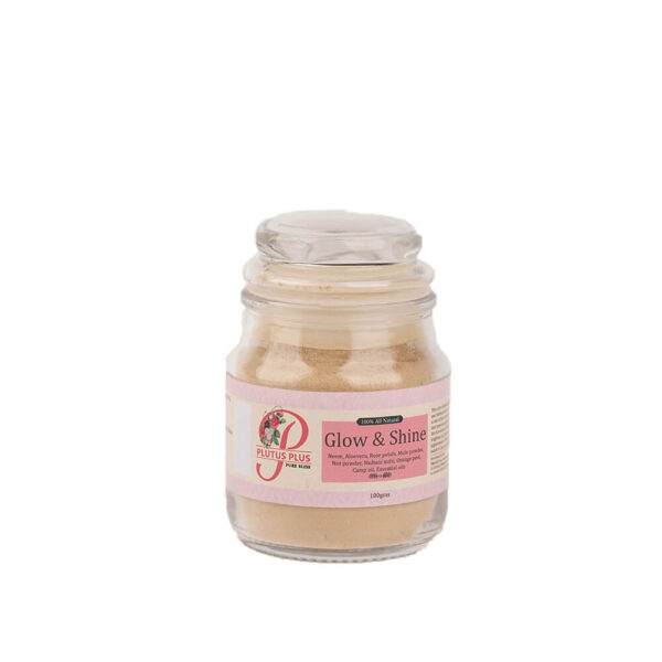 Glow and shine face pack product image 1