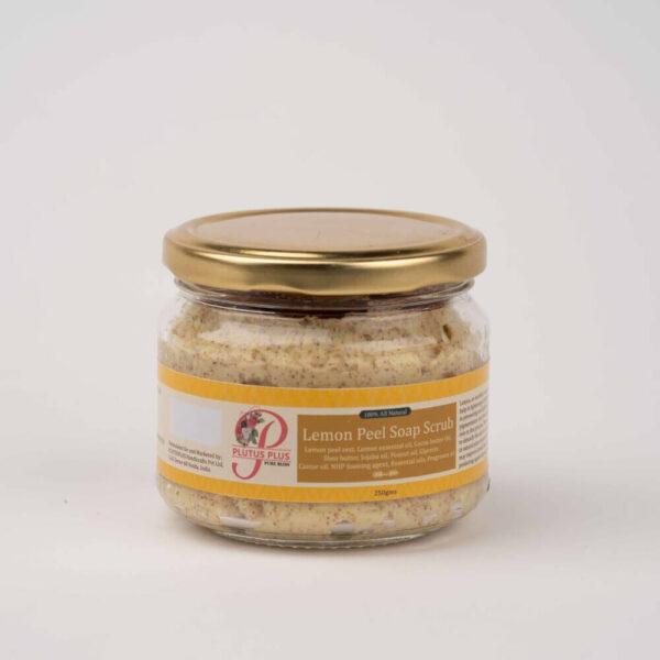 Lemon peel soap scrub product image 1