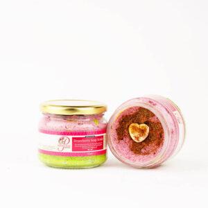 Strawberry soap scrub product image 2